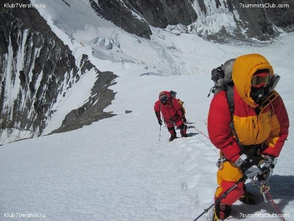 Стандартный маршрут восхождения на эверест с севера (со стороны китая)